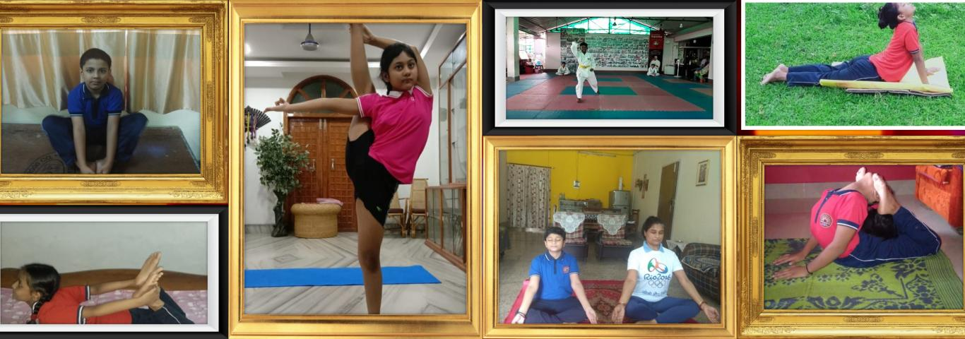 Yoga and sports for healthy mind, body and soul.