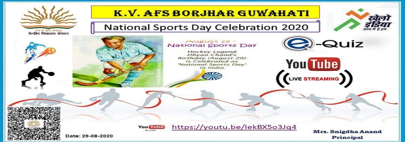 National Sports Day 2020 Celebration